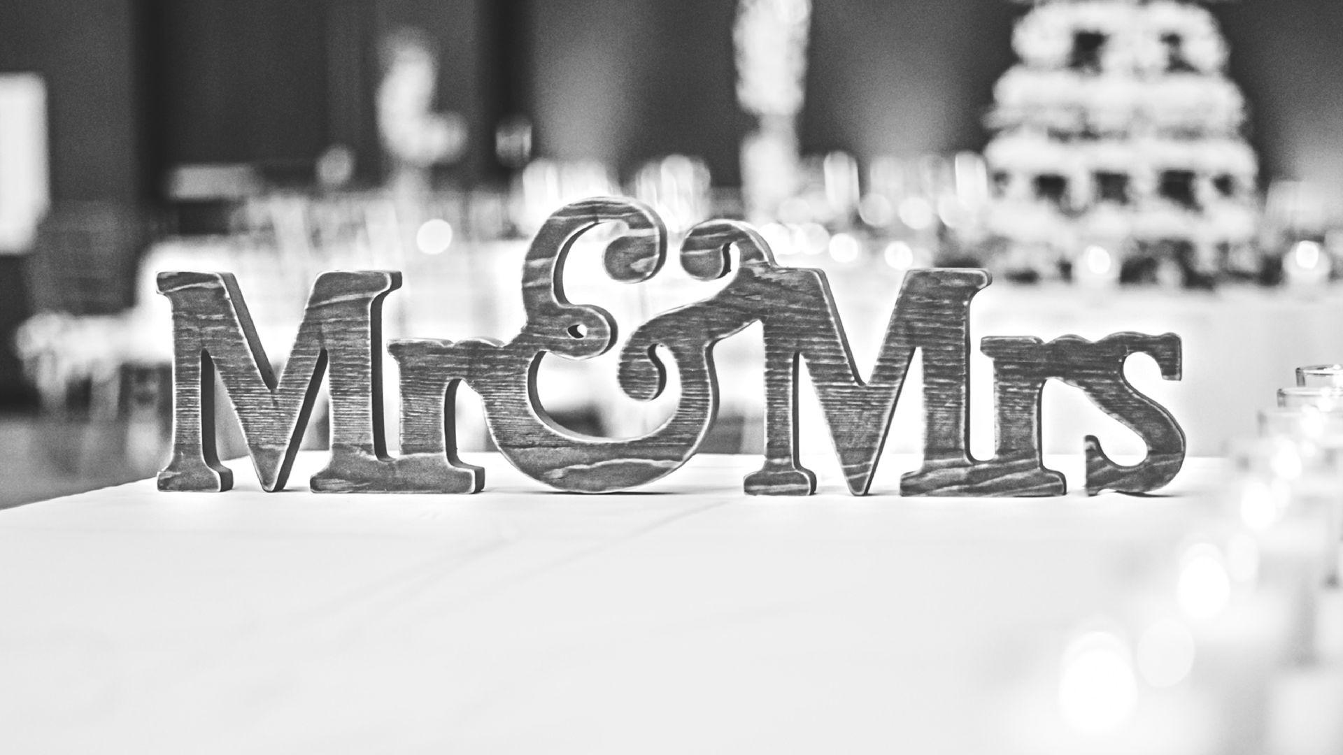 napisy na ślub, wesele